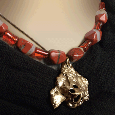 Marthe COULOMBE Bijoux bronze et aluminium
