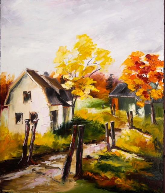 Sonia GRONDIN Artiste peintre