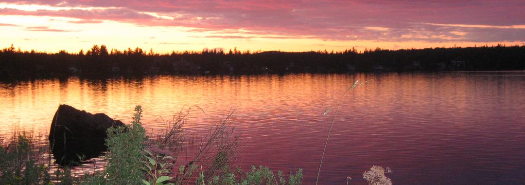 Lac rond   Crédit : Simon Rodrigue