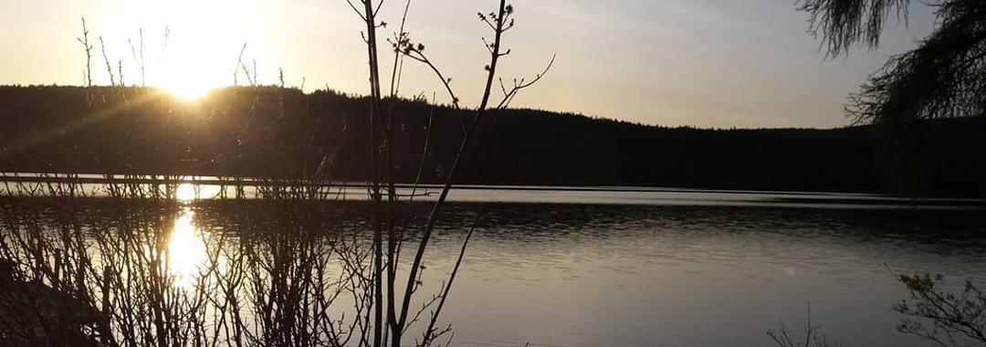 Lac Caribou   Crédit : M.C. Bellavance
